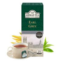 AHMAD TEA 亚曼 格雷伯爵红茶茶包 2g*25袋 *4件