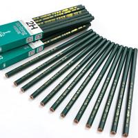 中华牌 6008 原木铅笔 12支 送卷笔刀1个+橡皮檫1个