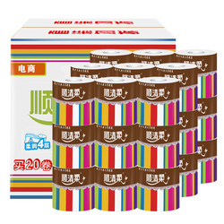 順清柔 彩虹系列 卷紙 4層200g*27卷 +湊單品