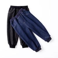 Oissie 奥伊西 儿童加绒牛仔裤