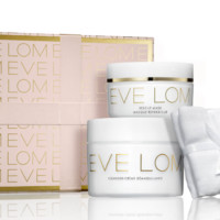EVE LOM 伊芙兰圣诞套装( 卸妆洁面膏 200ml+ Rescue Mask 急救面膜 100ml+洁面巾)