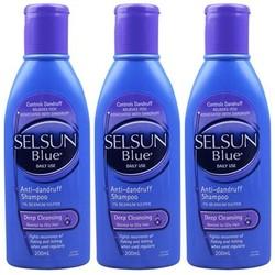 Selsun Blue 特效去屑止痒洗发水 200ml*3瓶