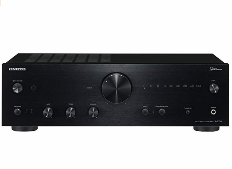 ONKYO 安桥 A-9150 合并式立体声功放 (黑色、900W)