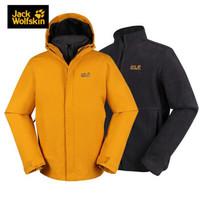 Jack Wolfskin 狼爪 5012772 男士保暖三合一冲锋衣