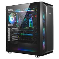 新品发售:先马(SAMA)鲁班1 黑色 游戏电脑主机箱