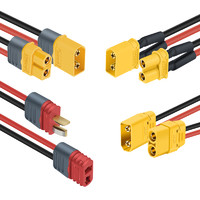锂电连接器  航模插头插件  XT60、XT30、XT90带150MM线
