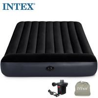 INTEX气垫床 充气床垫双人家用加大 单人折叠床垫加厚 户外便携床