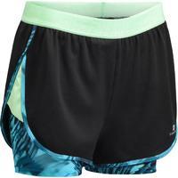 DECATHLON 迪卡侬 女式有氧健身二合一短裤