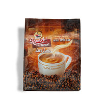 火船 拿铁咖啡速溶咖啡 25包共500g