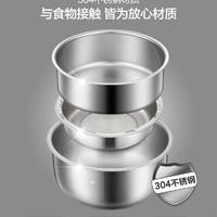Bear/小熊  DFH-A20D1电热饭盒三层可插电加热保温饭盒蒸饭器热带饭锅1-2人上班族