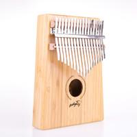 拇指琴卡林巴琴17音初学者手指钢琴kalimba手指琴卡灵巴琴乐器 板式(