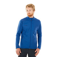 MAMMUT猛犸象 徒步系列 男士舒适保暖弹性旅行速干抓绒衣夹克 1014-00540