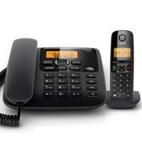 德国Gigaset原SIEMENS A730无绳电话机座机家用办公子母机无线 宝石黑
