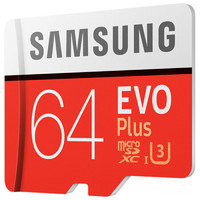 SAMSUNG 三星 EVO Plus 升级版  MicroSD卡 64GB