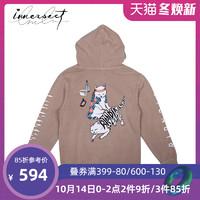 INNERSECT潮牌 RIPNDIP 2019春秋新品潮流宽松休闲印花连帽卫衣男