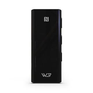 海贝(HiBy) W3便携无线蓝牙耳放HiFi音频接收器带麦声卡 至臻黑