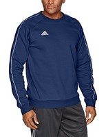 adidas Soccer Core18 Sweat Top 男款运动休闲卫衣