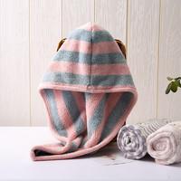 日本包头巾浴帽干发帽子女超吸水毛巾可爱擦长头发速干神器洗头巾