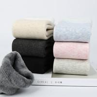 袜心派冬季加厚加厚棉质雪地袜2双装里绒保暖舒适