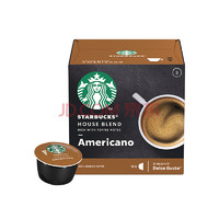 星巴克咖啡胶囊特选综合美式黑咖啡(大杯) 102g(雀巢多趣酷思咖啡机适用) *11件