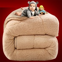 制梦家纺 羊羔绒被子冬 150*200cm 5斤