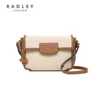 Radley 英国女包2019新款女士时尚中号翻盖斜挎包14937 NATURAL F