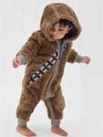 Gap 盖璞 婴儿星球大战系列舒适长袖一件式连体衣 *2件