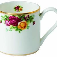 Royal Albert 复古玫瑰骨瓷茶杯