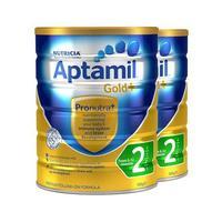 【保税区】【2罐装】Aptamil 澳洲爱他美 奶粉金装 2段 6-12个月  900g