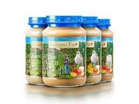 【4瓶装】爷爷的农场婴幼儿辅食果酱混合口味190g*4  斯洛伐克原装进口
