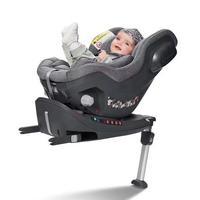 宝贝第一启萌 0-4岁新生儿儿童安全座椅360度旋转汽车用宝宝婴儿  太郎灰