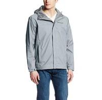 Columbia 哥伦比亚 Watertight II Front-Zip 男款防水冲锋衣 灰色