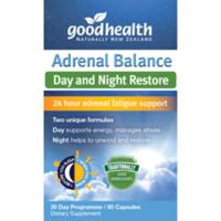 Good Health 好健康 肾上腺平衡日夜恢复胶囊 60粒