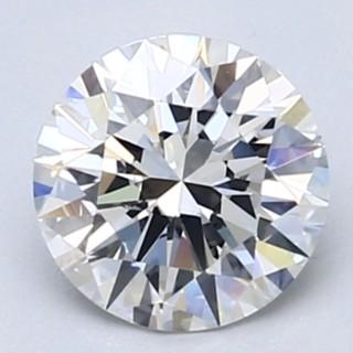 Blue Nile 1.01克拉 圆形切割钻石(切工EX,成色D,净度VVS2)