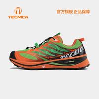 TECNICA泰尼卡山地越野鞋闪电2.春夏越野跑户外登山鞋 男款:006青绿色-橙色 45(UK10.5)
