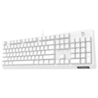 Fuhlen 富勒 第九系 G900S 白色纯享版 104键机械键盘 Cherry轴