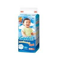 日本Genki进口妮飘婴儿纸尿裤超薄透气尿亲肤尿不湿L54片 *4件