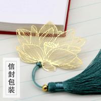 中国风金属镂空创意书签