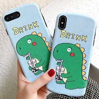 GGUU iPhonexr手机壳恐龙