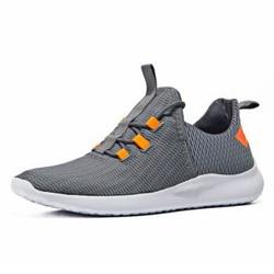 361度男鞋夏季新款综训鞋网面运动鞋 专柜同款 571824410 宇宙灰/萤光超级橙 42