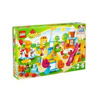 乐高(LEGO)DUPLO 得宝系列 大型游乐园 拼插积木塑料玩具10840 块数100-200块
