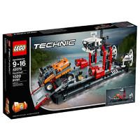 乐高(LEGO)科技系列 机械组 (气垫渡轮42076) 1020块儿童积木塑料玩具