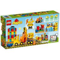 乐高(LEGO)DUPLO得宝系列 大型建筑工地 拼插积木塑料玩具 10813 2-5岁