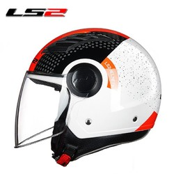LS2 562# 摩托车头盔 半盔