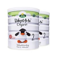Arla 爱氏晨曦 Baby&Me 婴儿有机奶粉 2段 600g  *5件 +凑单品