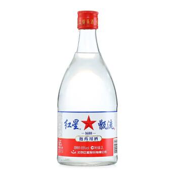 红星 甑流 65度 清香型白酒 2L