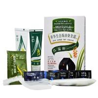 章华生态植物染发霜焗油膏140ml遮白黑色多色温和