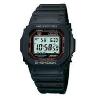 卡西欧 G-Shock Tough 太阳能男式原子计时数字计时码表手表
