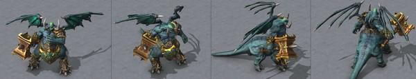 【多图合集】《魔兽争霸3:重制版》大量模型图公开,老英雄焕新颜