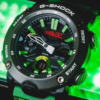 G-Shock x Gorillaz 联名款 GA-2000GZ-3A 男士腕表